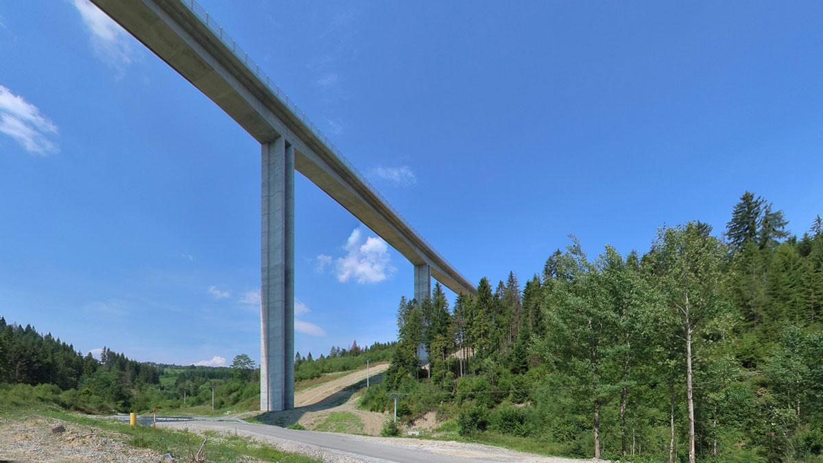 Najvyššia mostná konštrukcia v strednej Európe